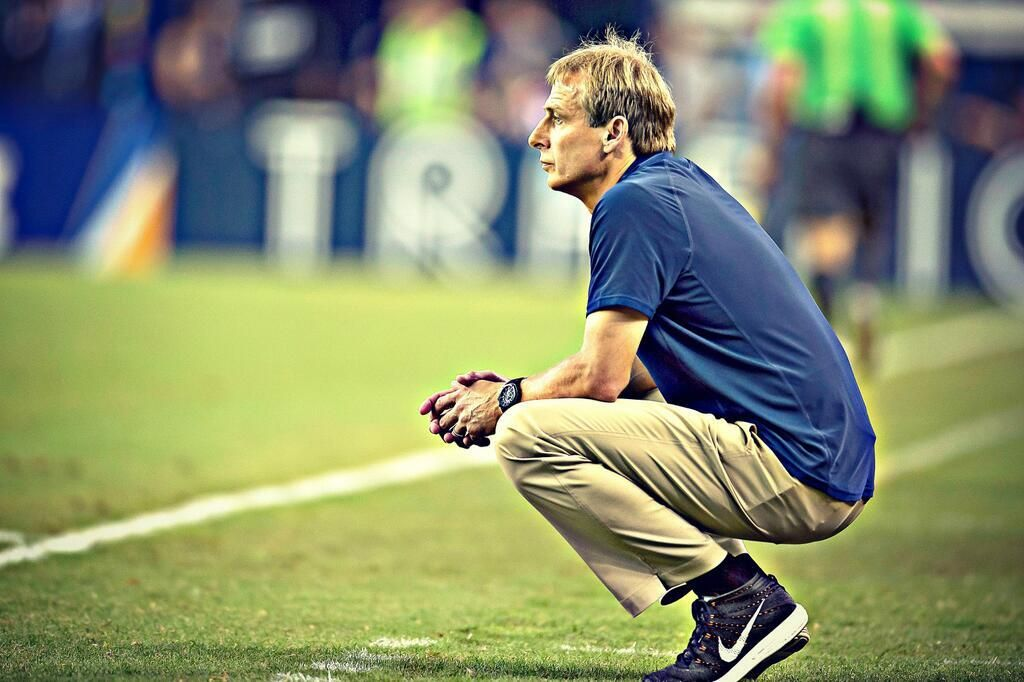 Pin By Deedee On For The Love Of The Game Jurgen Klinsmann Soccer Fans Usmnt