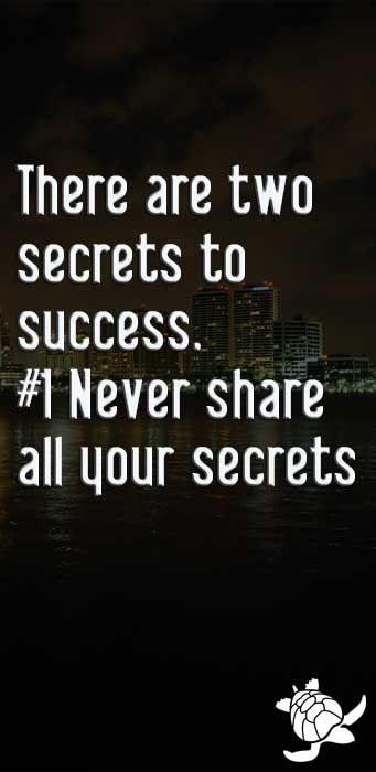 Share your secrets