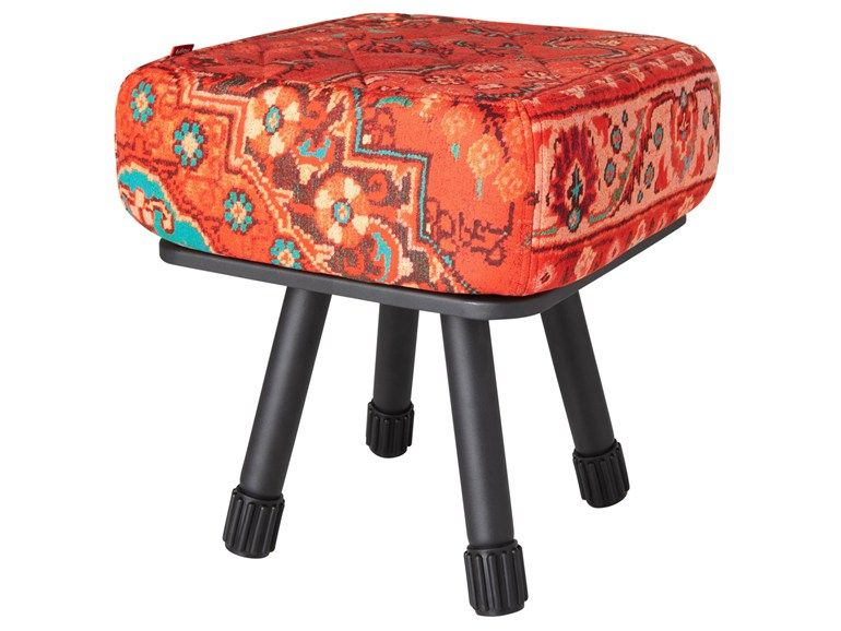 Low upholstered stool KRUKSKI by FATBOY the Original (for Zibra & Tiger cloth)