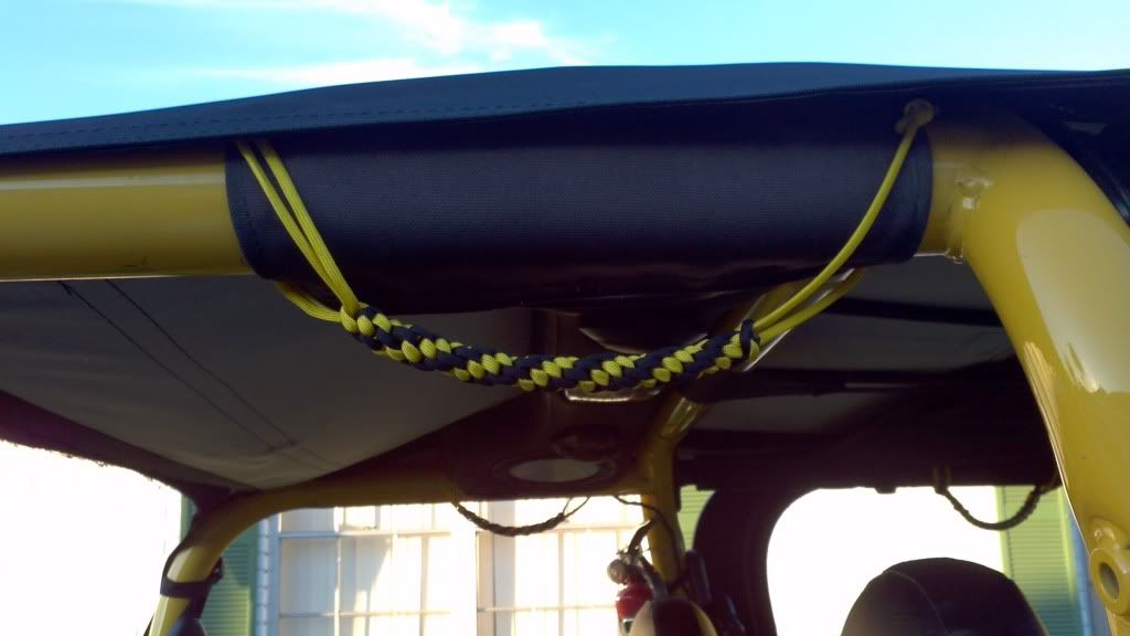 Paracord Grab Handles How To Make Your Own Jeep
