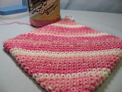 Double Thick Crochet Hot Pads Im Making Some Of These With The