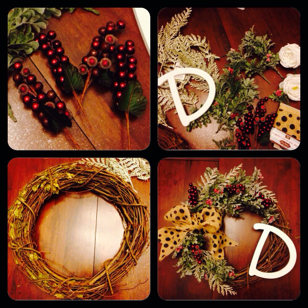 DIY Christmas wreath 30 supplies (With images