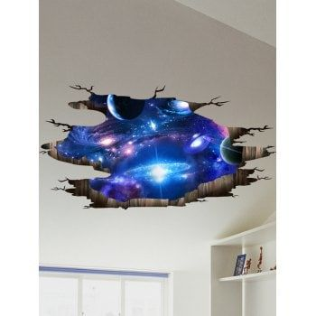 Home Decor Artificial Flowers, Wall Stickers, LED Night Lights