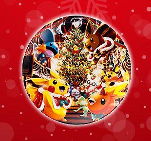 Pokemon Christmas plate