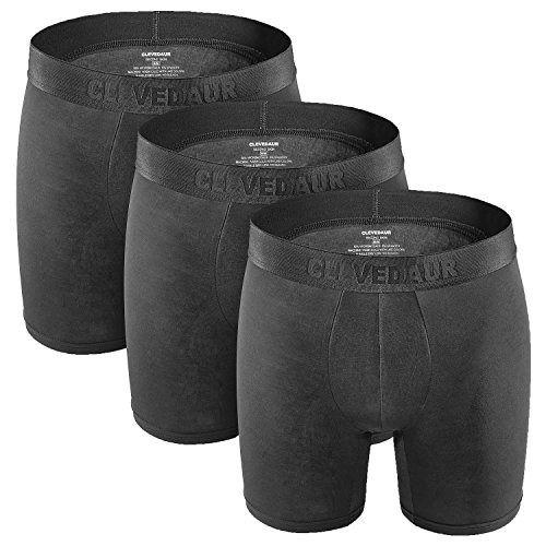 X-Large Granite//Black 2 Pack ExOfficio Mens Give-N-Go Boxer