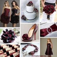 Silver And Burgundy Wedding Maroon Wedding Burgundy Silver Wedding White Silver Wedding Black Silver Wedding