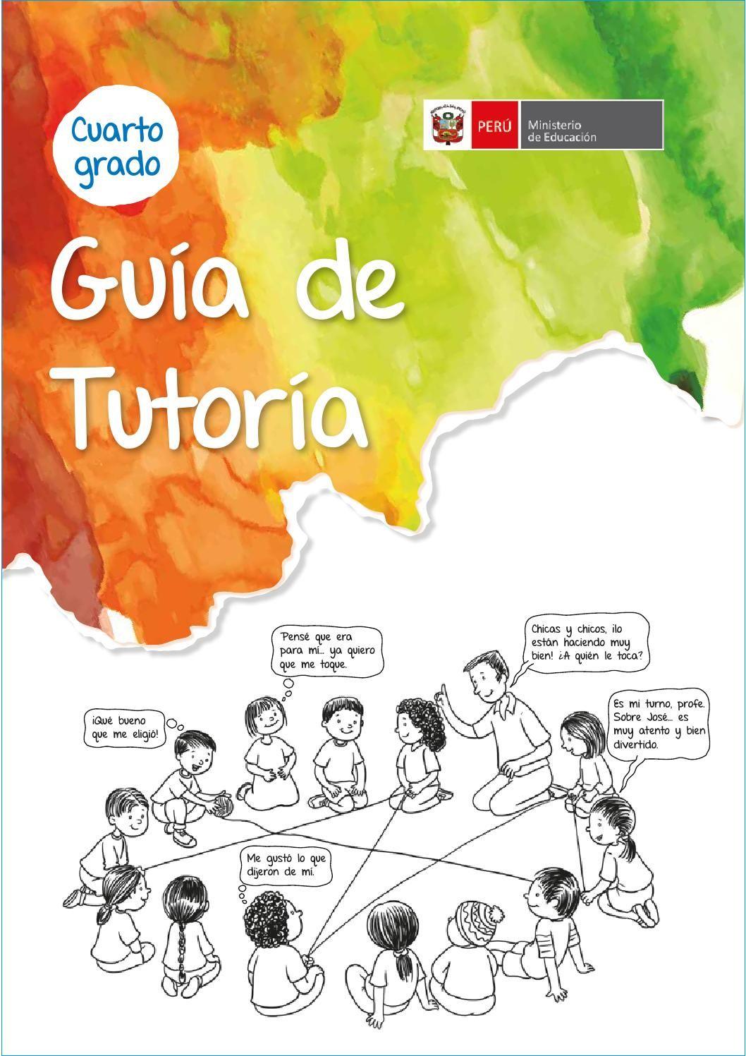 Guia tutoria cuarto grado | LIBROS_ EDUCACIÓN | Books y Make it simple