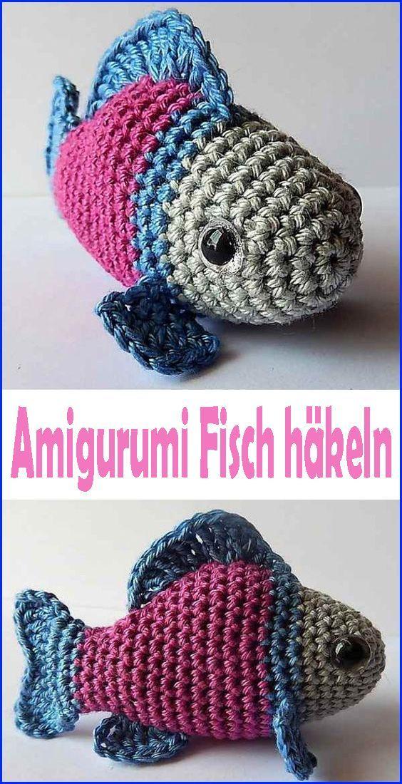 Photo of Amigurumi Fisch häkeln – kostenlose Anleitung für Anfänger – Wellecraft