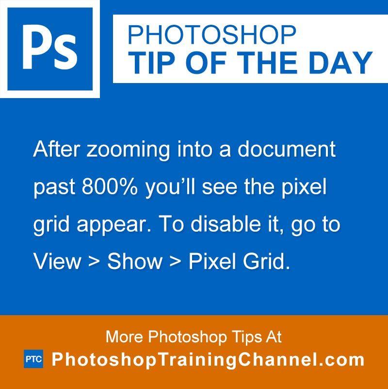 Pixel Grid | Photoshop | Photoshop for photographers