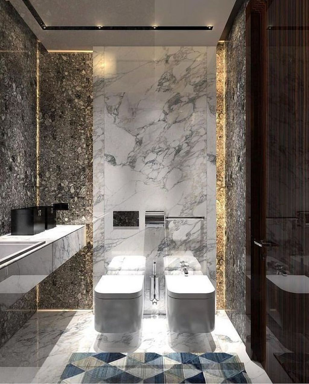 31 Nice Contemporary Bathrooms Design You Never Seen Before In