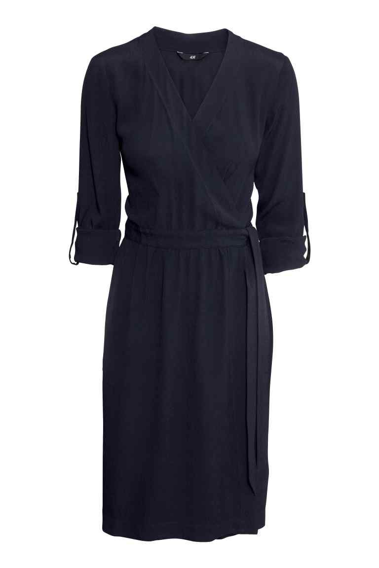 Robe portefeuille   H&M