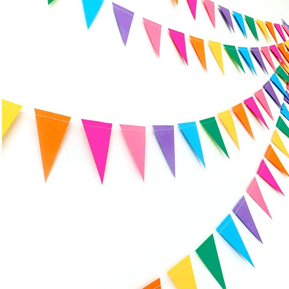 Amazonsmile Party Decorations Supplies Paper Flags Banners
