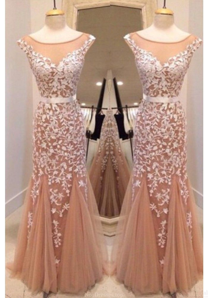 Newest Mermaid Prom Dress,Tulle App | Prom, Mermaid and Long prom ...