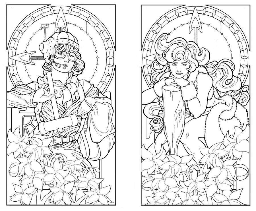 Art Deco Coloring Pages Coloring Book Art Pattern Coloring Pages Art Deco Colors