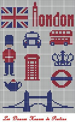God Save The Queen Free Motifs Anglais Le Blog De Piatine Modeles De Point De Croix Point De Croix Broderie Et Point De Croix