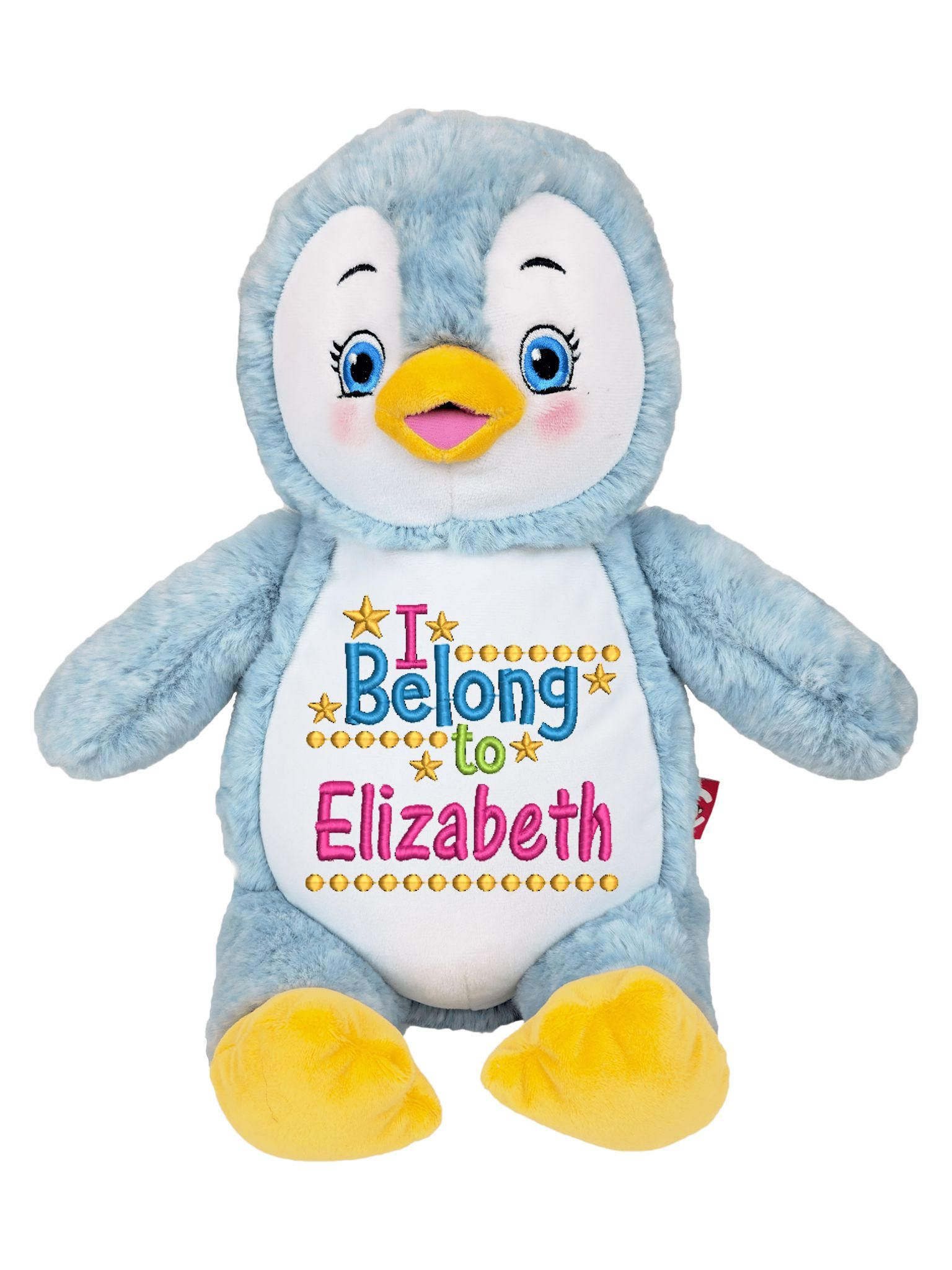 Personalized stuffed animal cubby penguin plush toy new born personalized stuffed animal cubby penguin plush toy new born baby gift shower negle Choice Image