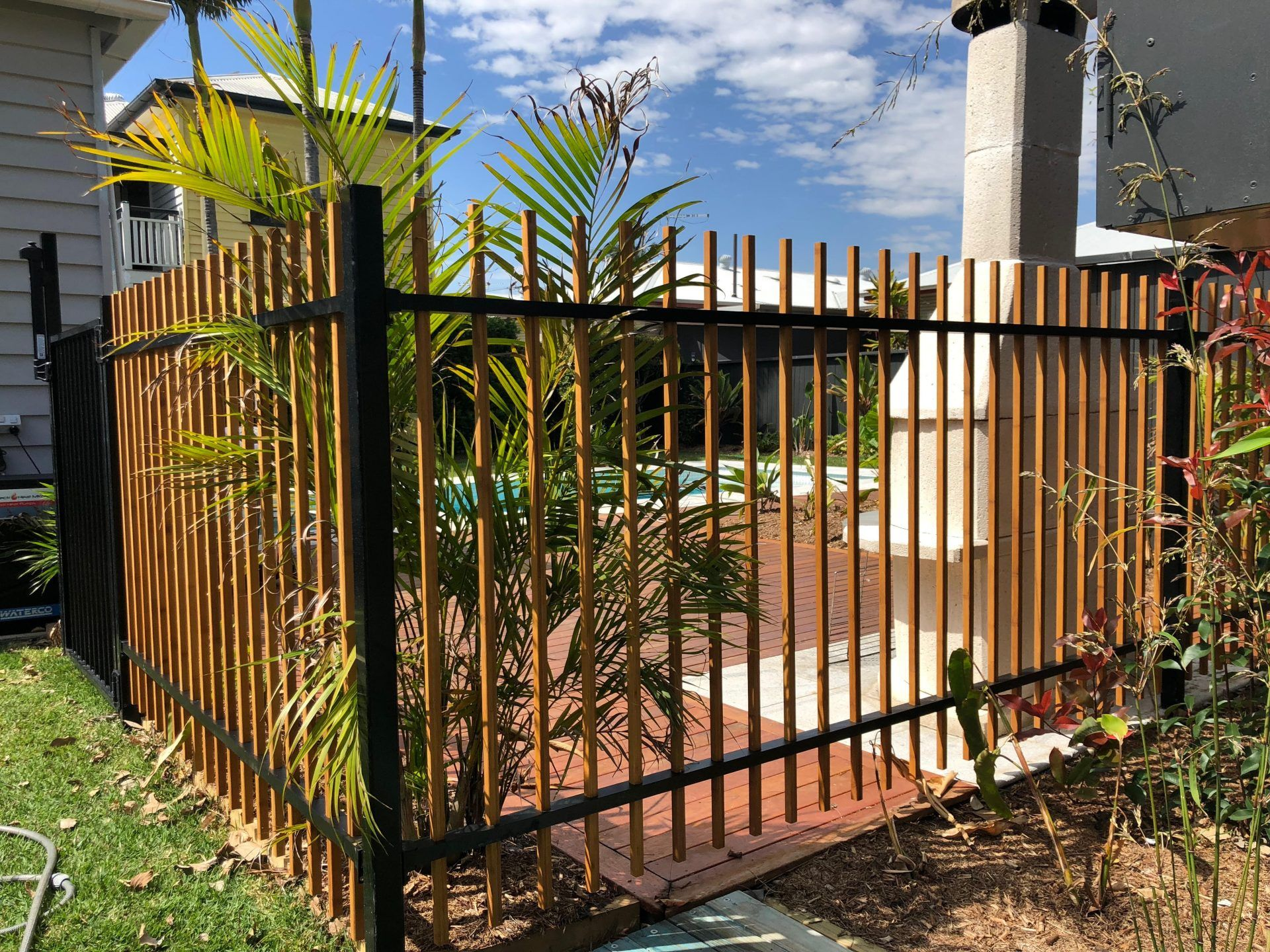 Pool Fencing Bamboo Building Products Aluminum Pool Fence Fence Design Diy Pool Fence