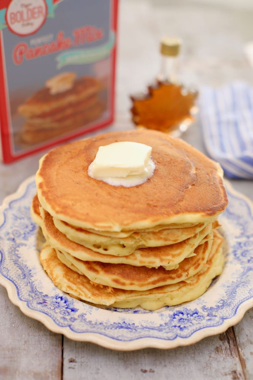 Best Homemade Pancake Recipe W Video Bigger Bolder Baking Recipe Buttermilk Pancake Mix Best Homemade Pancakes Homemade Buttermilk Pancakes