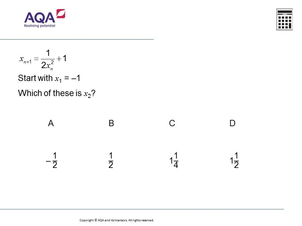 Iteration (Higher): GCSE Maths Question of the Week on Mr Barton ...