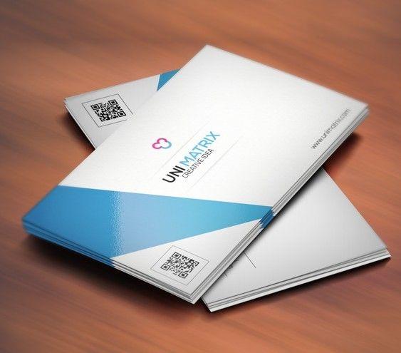 SimpleCleanCreativeBusinessCardTemplatePSDjpg - Business cards templates psd