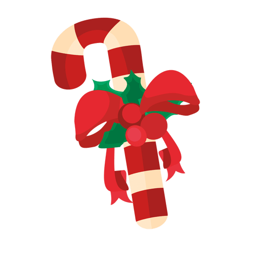 Christmas Candy Cane Ribbon Transparent Png Svg Vector