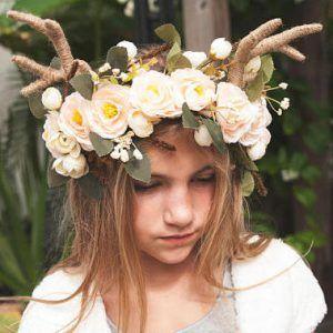 j ger reh kost m selber machen collage deer antlers. Black Bedroom Furniture Sets. Home Design Ideas