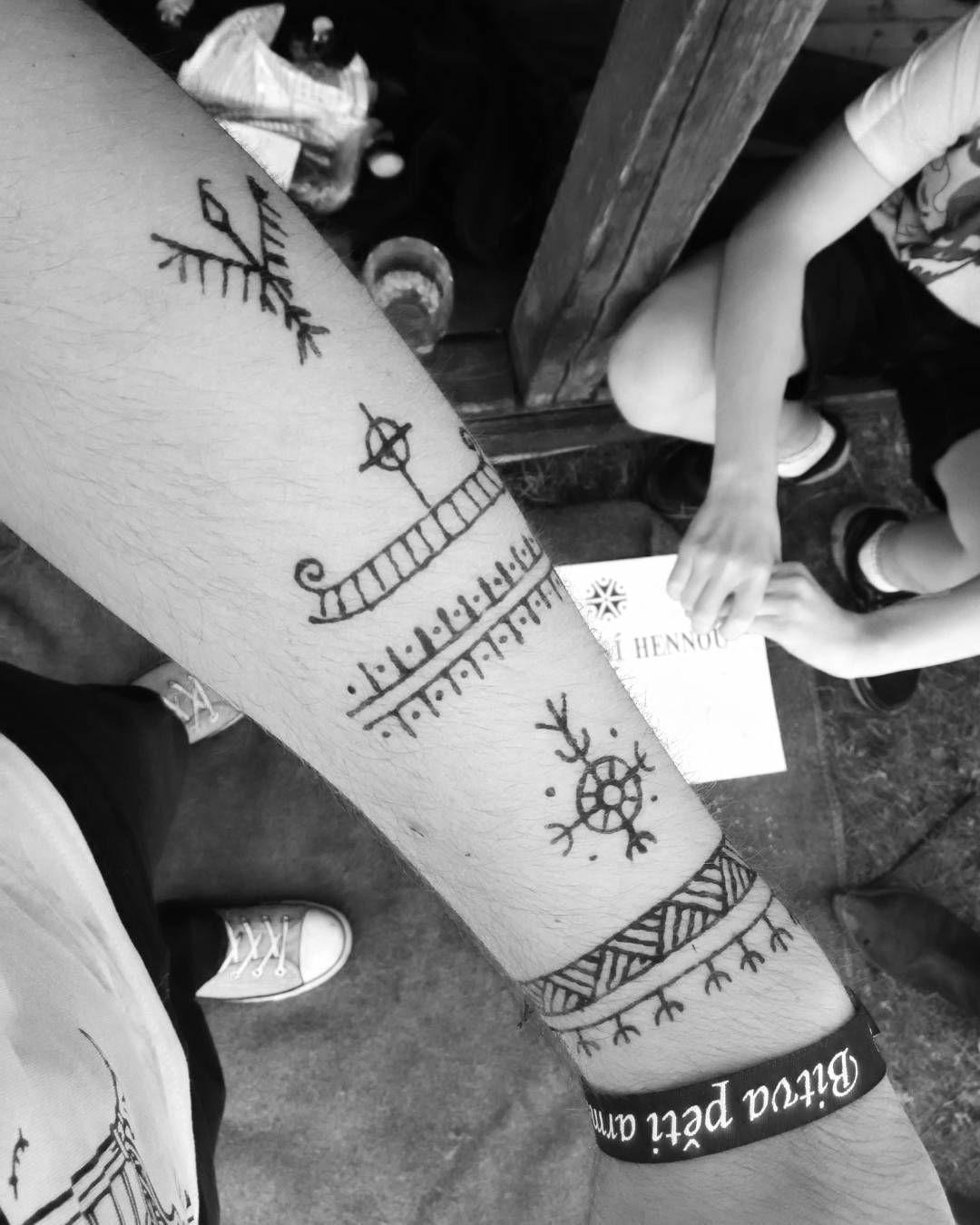 Hennatattoo Slavic Viking Tattoo Slovanenaslunkac Viking Tattoo Symbol Ancient Viking Tattoos Rune Tattoo