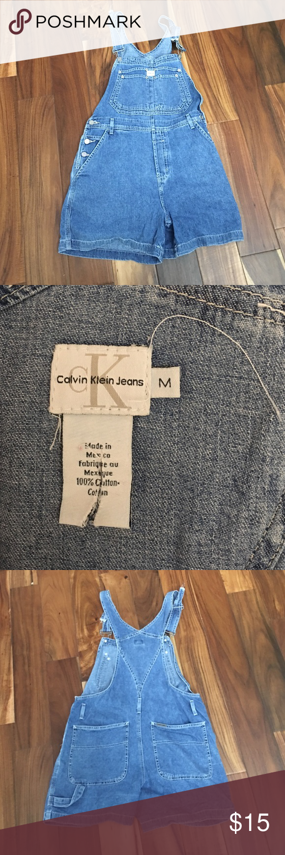 Calvin Klein jeans overalls Great condition worn 3 times Calvin Klein Jeans Jeans