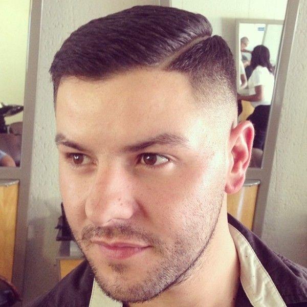 Fade Slick Razor Side Line Front Barbershops Pinterest Hair