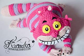 Cheshire cat inspired by Disney's version of Alice in Wonderland.