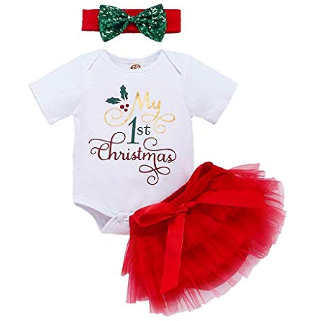 Kleider Kleinkind Kleidung Baby-Outfits Neugeborenes Kostüm 3Pcs Stirnband