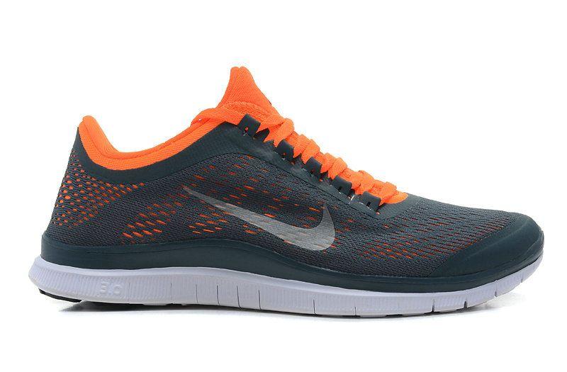 a6fcb7949094 Nike Free 3.0 V5 Mens Dark Armory White Total Orange 580393 418 ...