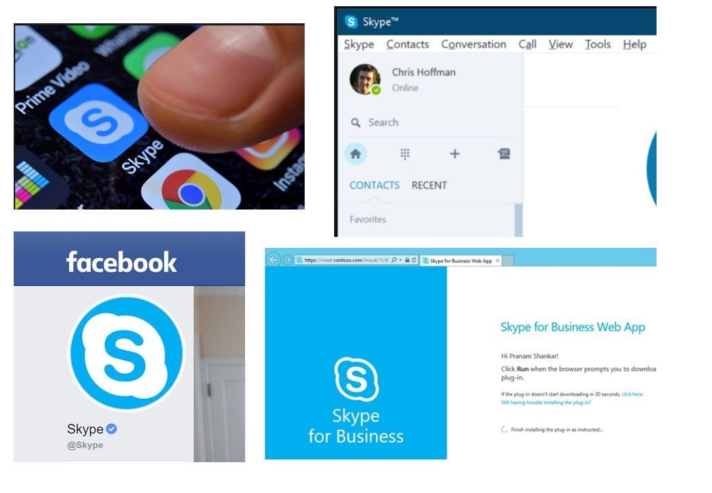 Skype visual identity Web app, Visual identity, App