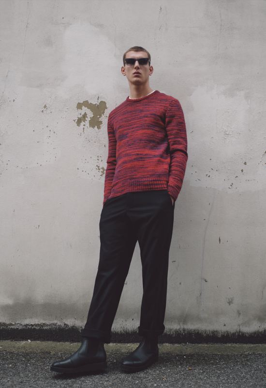 YMC release their Autumn/Winter 2016 lookbook, featuring new knitwear, jumpers, sweaters, sweatshirts, wide leg trousers and wallabees.