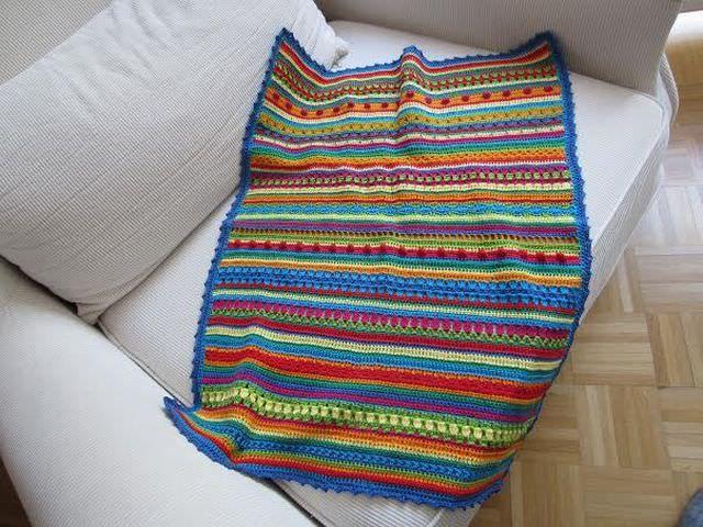 Crochet Along Babydecke von Nicole schoenstricken.de