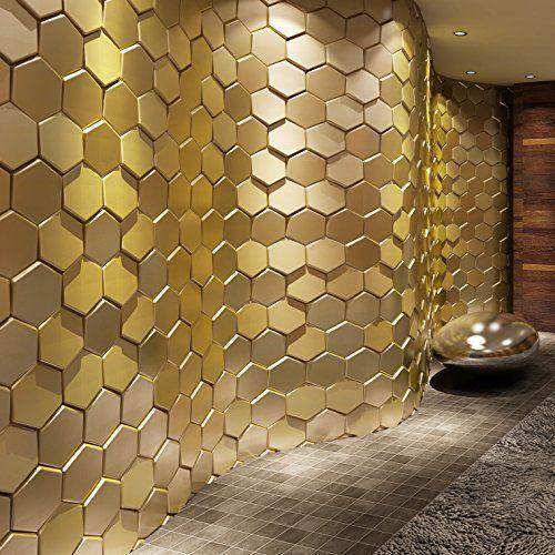 Art3d 20-Pieces Decorative 3D Wall Panel Faux Leather Til... https ...