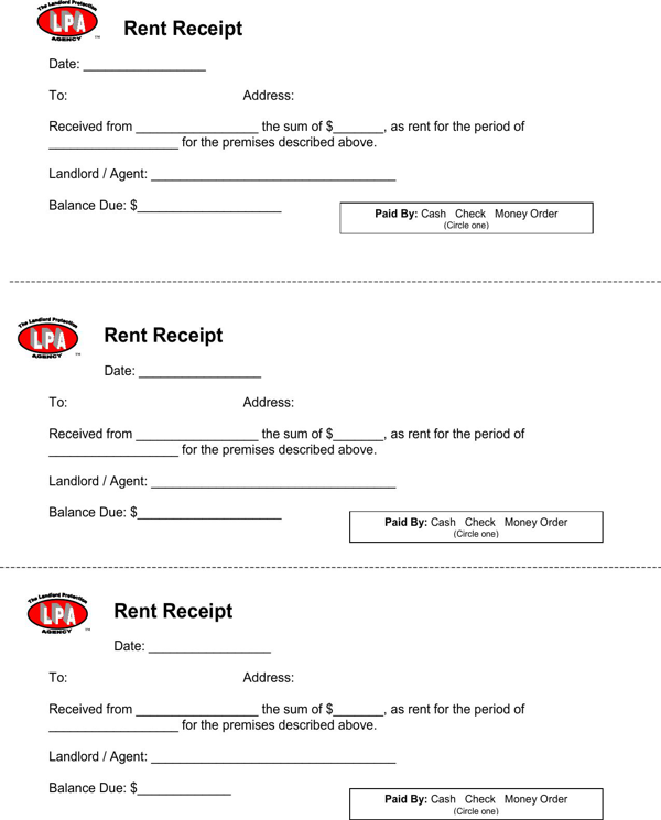 Download And Create Your Own Document With Receipt For Rent Payment 32kb 1 Page S For Free Receipt Template Free Receipt Template Being A Landlord
