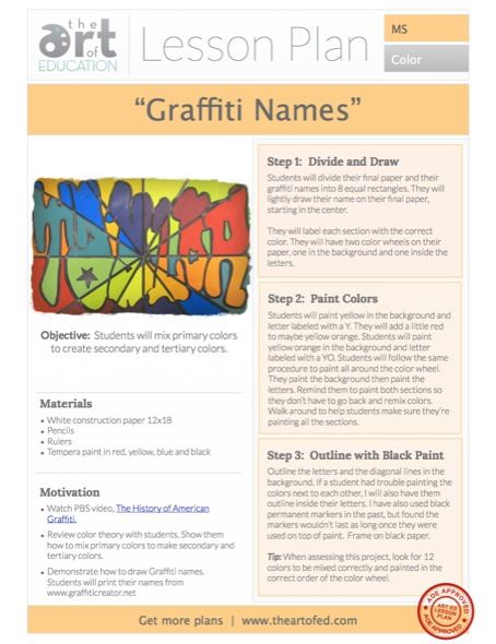 12 best images about IFPAD - creativity class on Pinterest ... |Middle School Art Lesson Ideas