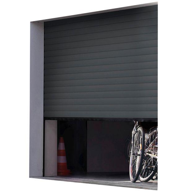 Porte De Garage Chicago Enroulable Motorisee Porte Garage Garage Porte Garage Enroulable