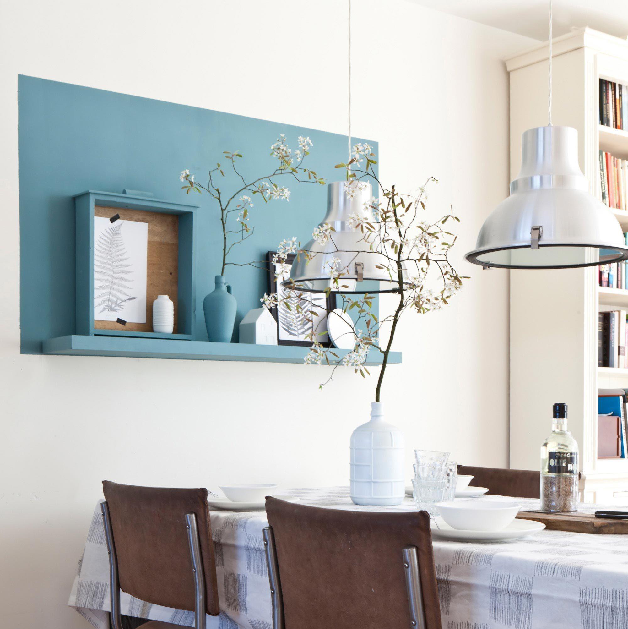 Peindre Un Aplat Sur Le Mur Inspiration Salle à Manger