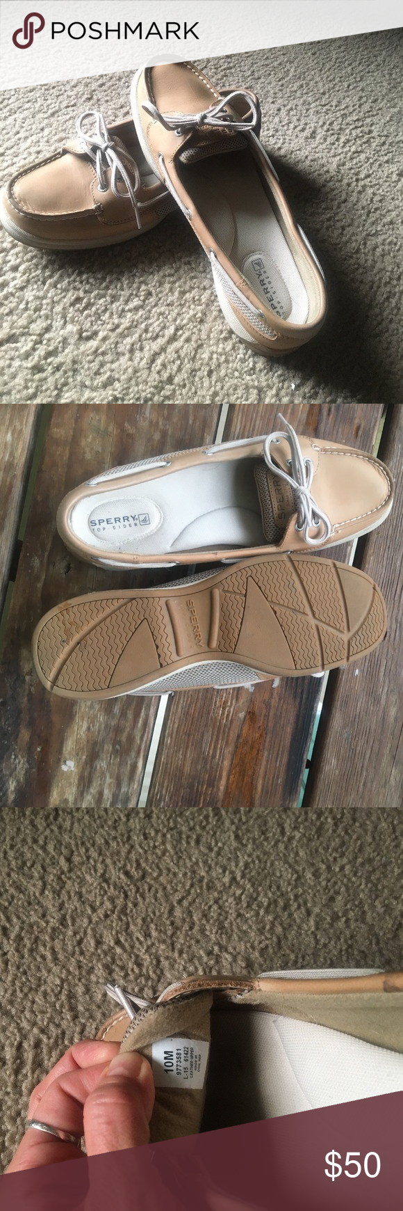 Sperry Top Siders Laguna Boat ~ Worn maybe 4 times ! No wear inside or on soles. All leather upper. Sperry Top-Sider Shoes