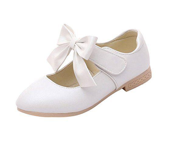 premium selection 3fdd8 2f8c3 EOZY Kinder Mädchen Ballerina Festliche Schuhe Lackschuhe ...