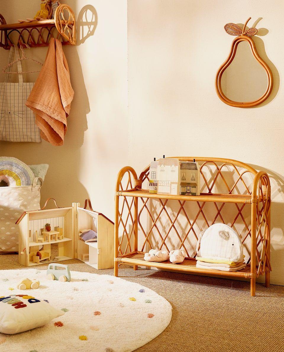 Image 7 Du Produit Etagere Rotin Kids En 2020 Etagere Rotin Deco Chambre Enfant Mobilier De Salon