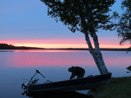 The sunset of Grand Bay-Westfield, New Brunswick, taken by CG Photo Club member Gary Colwell.