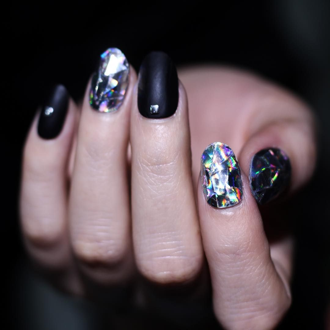 Amazing Nail Diamond Art Vignette - Nail Paint Ideas ...
