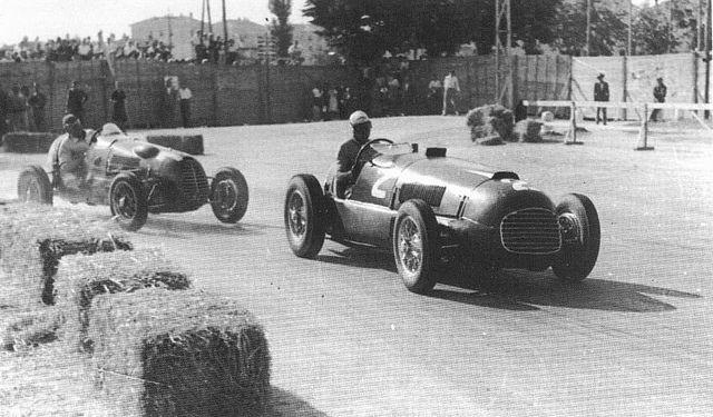 1948 circuito di mantova - tazio nuvolari (ferrari 166sc) dnf 8 laps driver ill, felice bonetto (cisitalia d46) 1st | Flickr - Photo Sharing!
