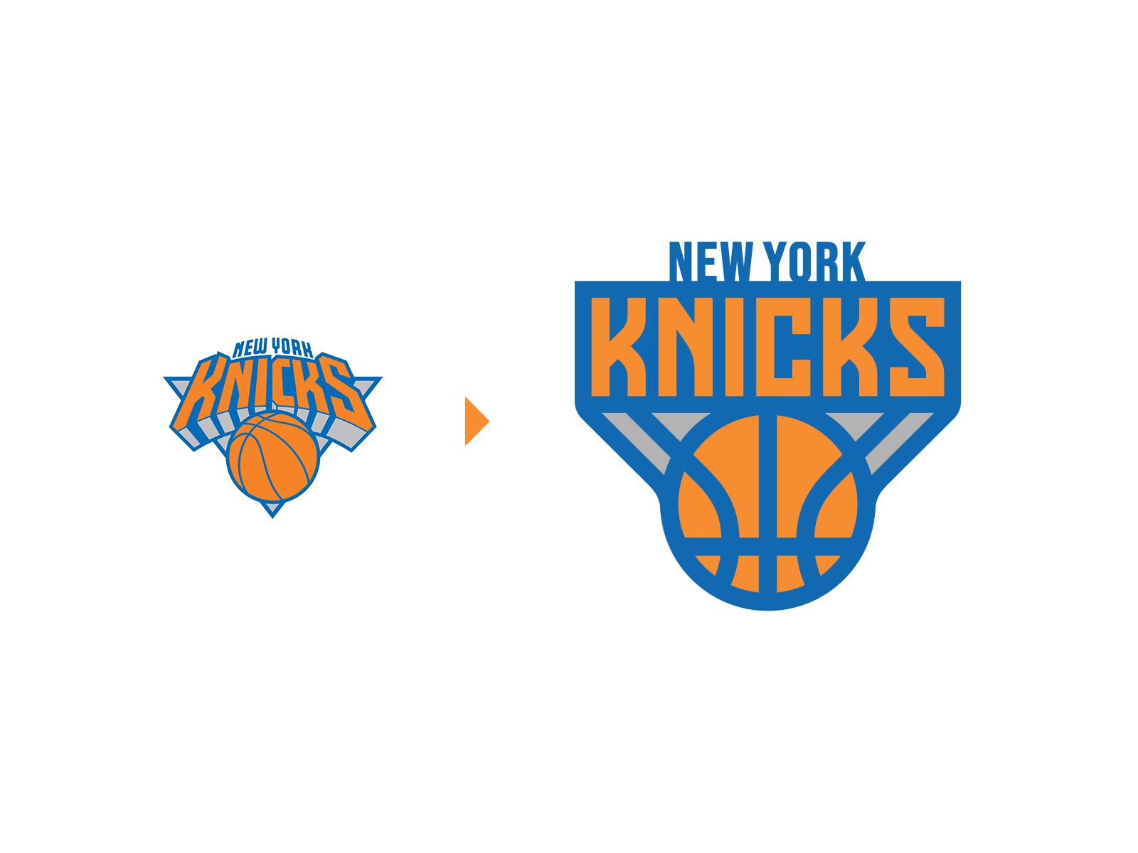 New York Knicks Nba Logo Rebrand Nba Logo New York Knicks New York Knicks Logo