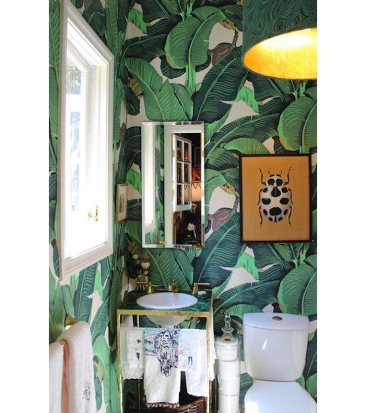 Zo style jij je palmbomenbehang in huis