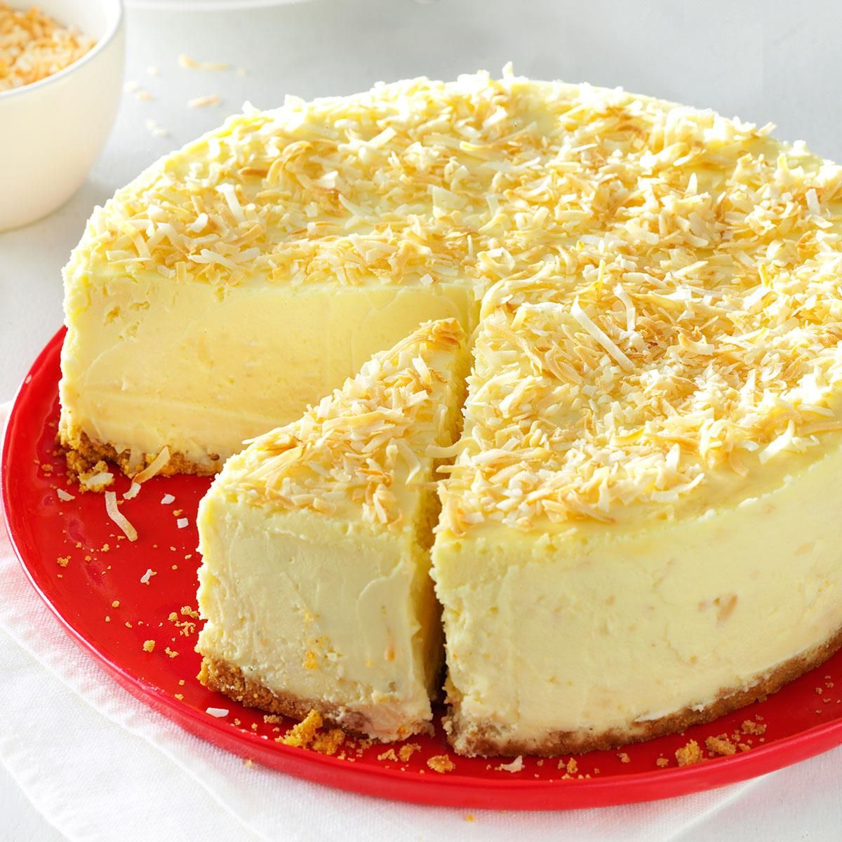 Coconut White Chocolate Cheesecake Recipe White Chocolate Cheesecake Recipes Cheesecake Recipes Chocolate Cheesecake Recipes
