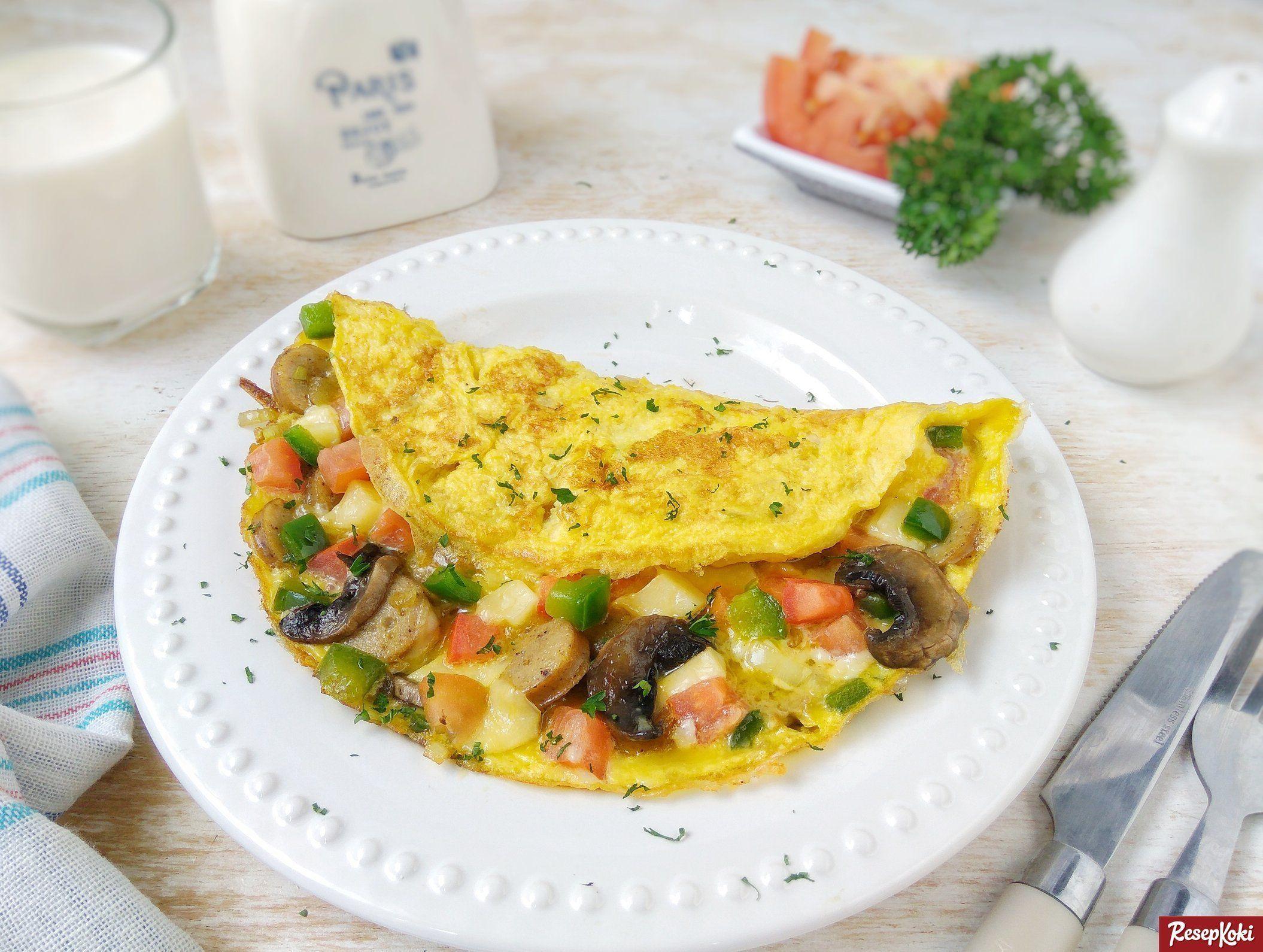 Resep Telur Omelette Resep Telur
